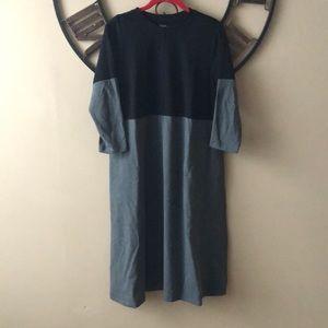 Long a line dress